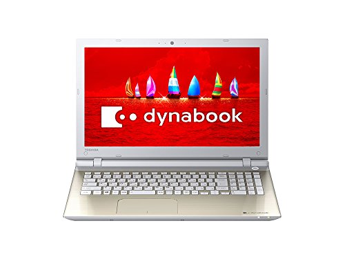 Toshiba dynabook AZ65 / VGSD Toshiba Web original model (Windows 10 Home / Office Home and Business Premium plus Office 365 service / 15.6 type / Core i7 / NVIDIA GeForce 930M / Blu-ray / Satin Gold) PAZ65VG-BJB