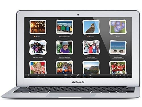 APPLE MacBook Air (1.6GHz Dual Core i5 / 11.6 inch / 4GB / 256GB / 802.11ac / USB3 / Thunderbolt2) MJVP2J / A