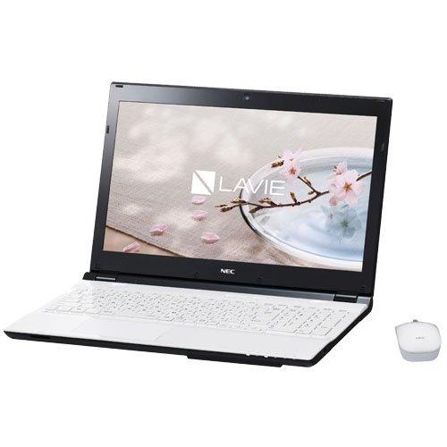NEC LAVIE Smart NS (S) [Note Standard(S)] [Windows10 Home 64bit Core i3 6100U(Skylake) 2.3GHz 2コア 4GBメモリ 500GB HDD IEEE802.11ac/a/b/g/n webカメラ USB3.0 HDMI 15.6型液晶 Microsoft Office Home and Business Premium] PC-SN232FSA7-2 White (Crystal White)