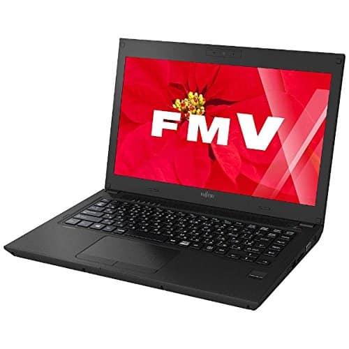 Fujitsu 13.3-inch notebook PC [Office with · Win10 Home · Core i3 · HDD 500GB · memory 8GB] FMV LIFEBOOK UH series U536 shiny black FMVU5360B